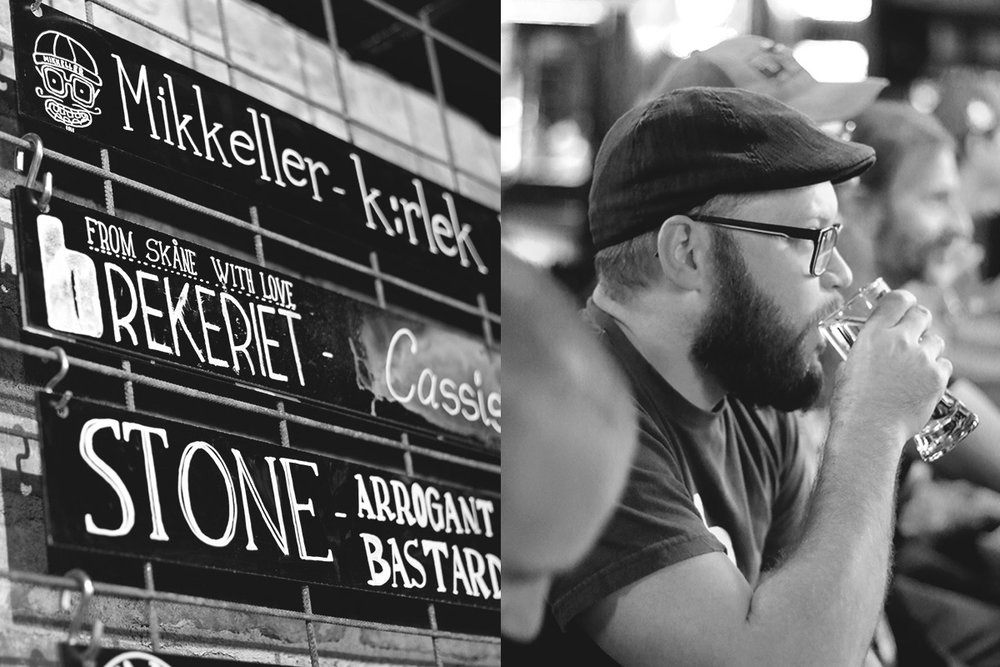 Brekeriet on tap. Left photo credit: Jeff Flindt, @image.flindt