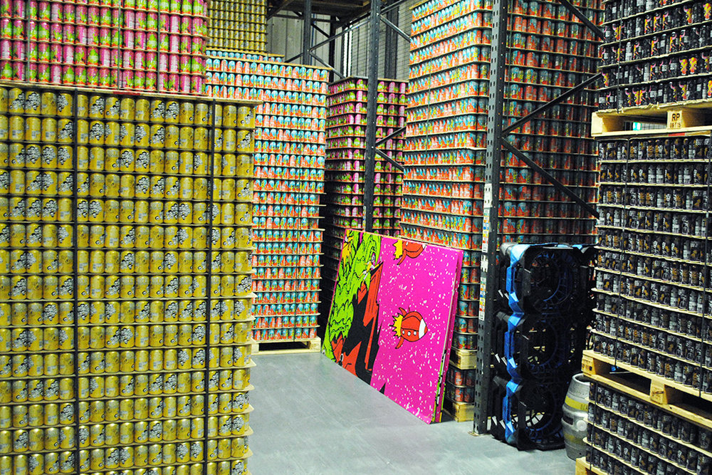 Big things are expected from London's Beavertown Brewery in 2017. Keep an eye out for their bold cans. [Photo: Jack Muldowney]