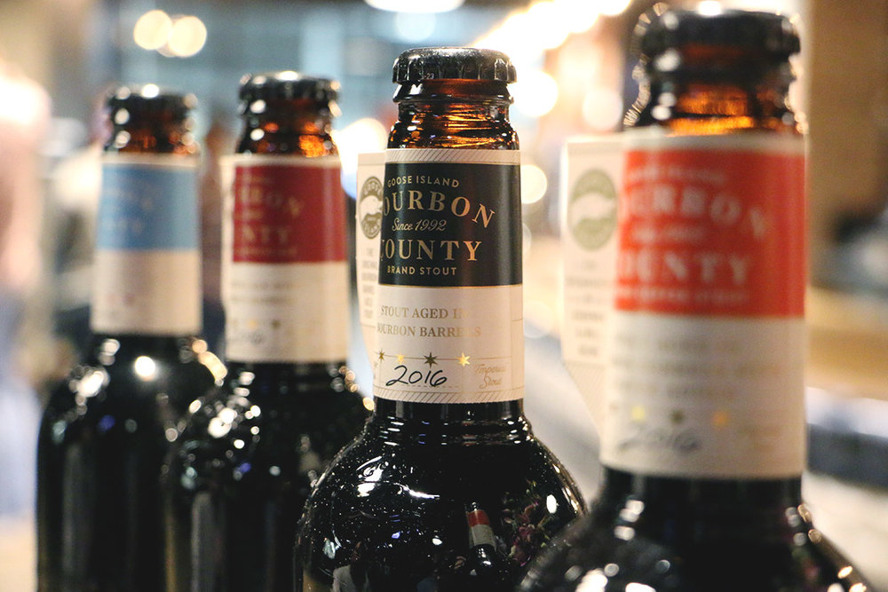 Goose Island's 2016 Bourbon County lineup gets tasted out prior to its No. [Photo: Nick Costa]