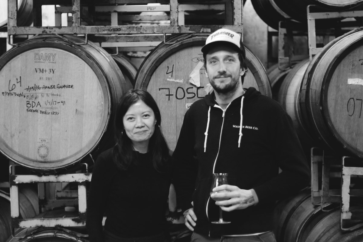 Sustainably Brewed: Brian Taylor & Ria Neri of Whiner Beer Co.