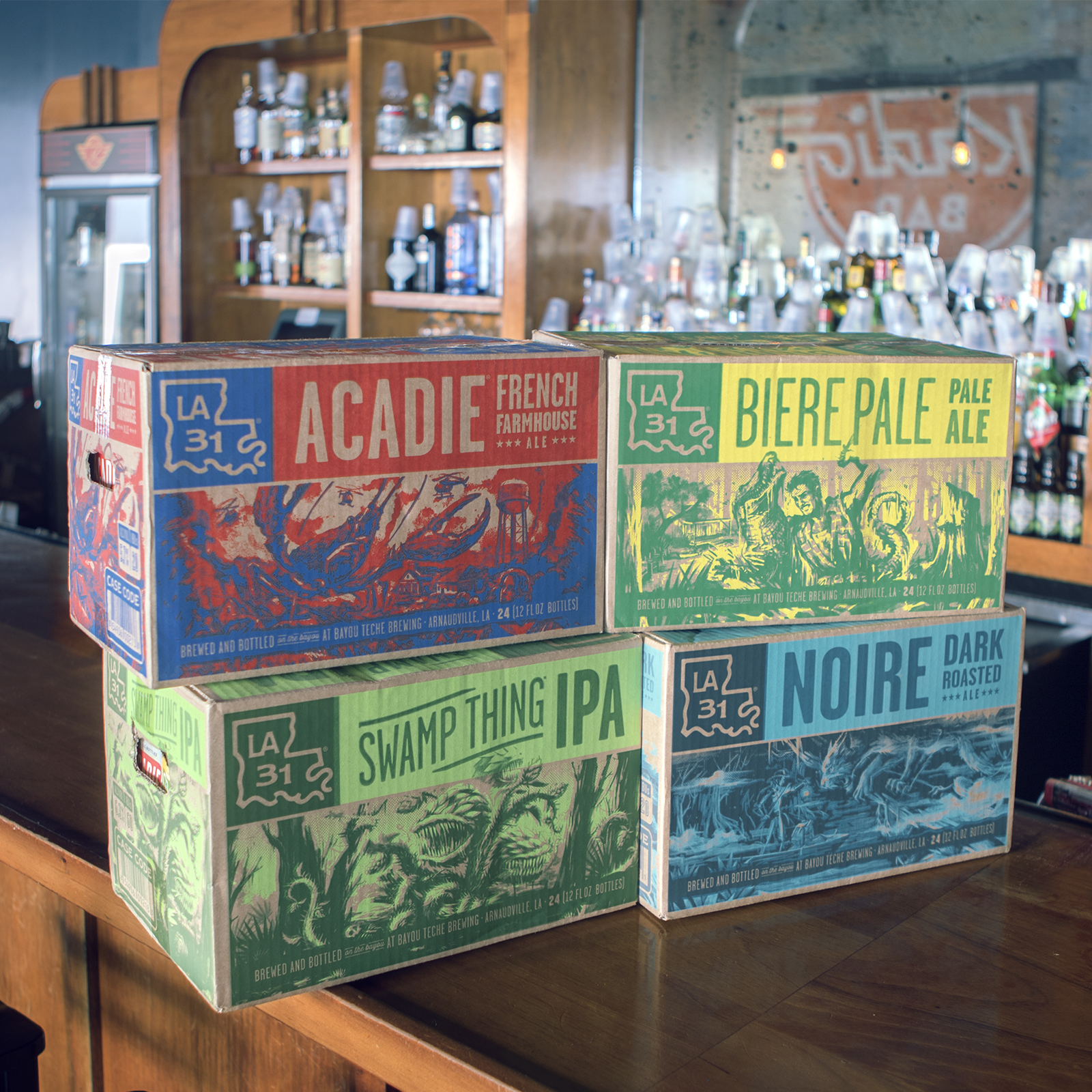 Beer & Branding: Bayou Teche Brewing