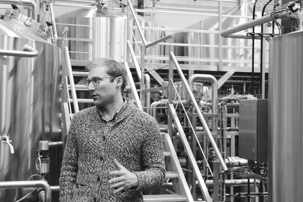Co-founder David Avram talks through the brew system capabilites.