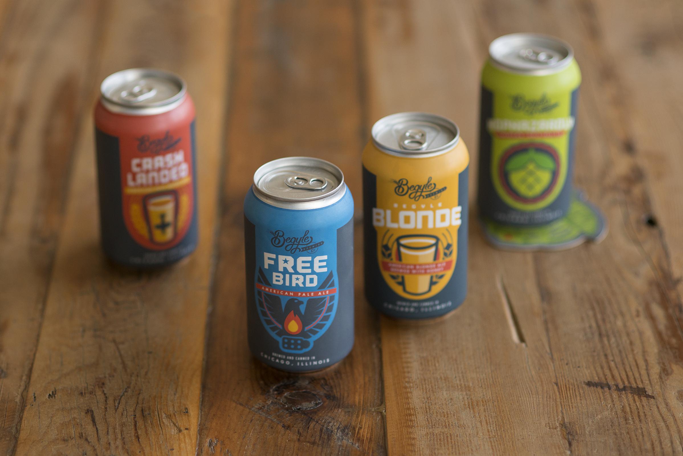 Beer & Branding: Begyle Brewing Co.