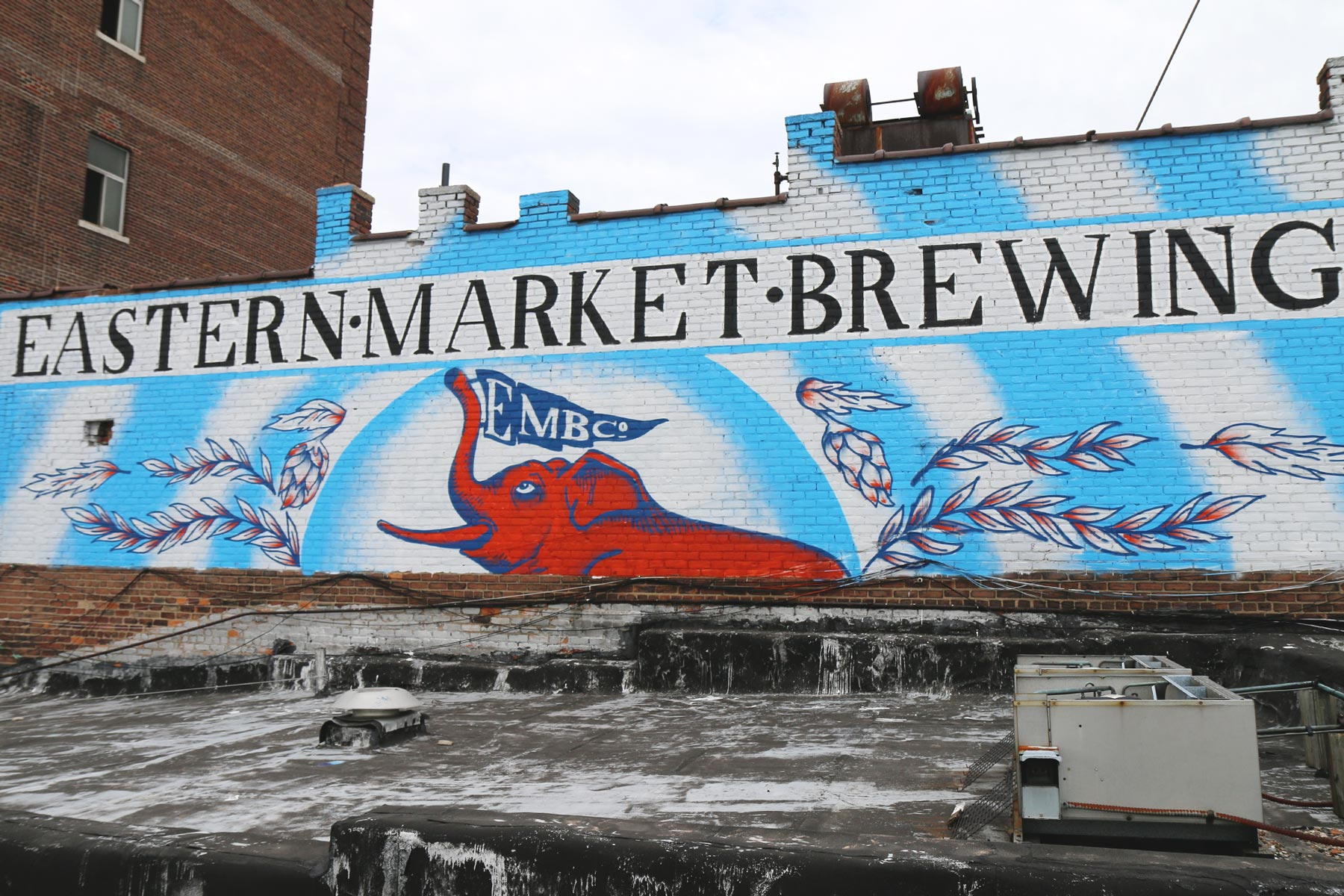 The Elephant in the Room: Detroit's Eastern Market Brewing Co.