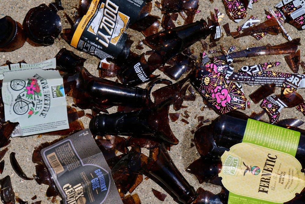 No beers were harmed before drinking.