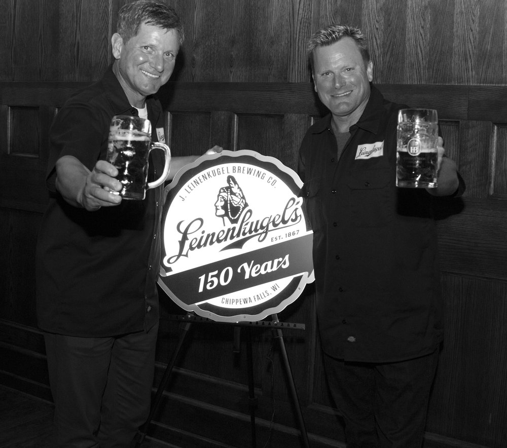 Dick & John Leinenkugel.