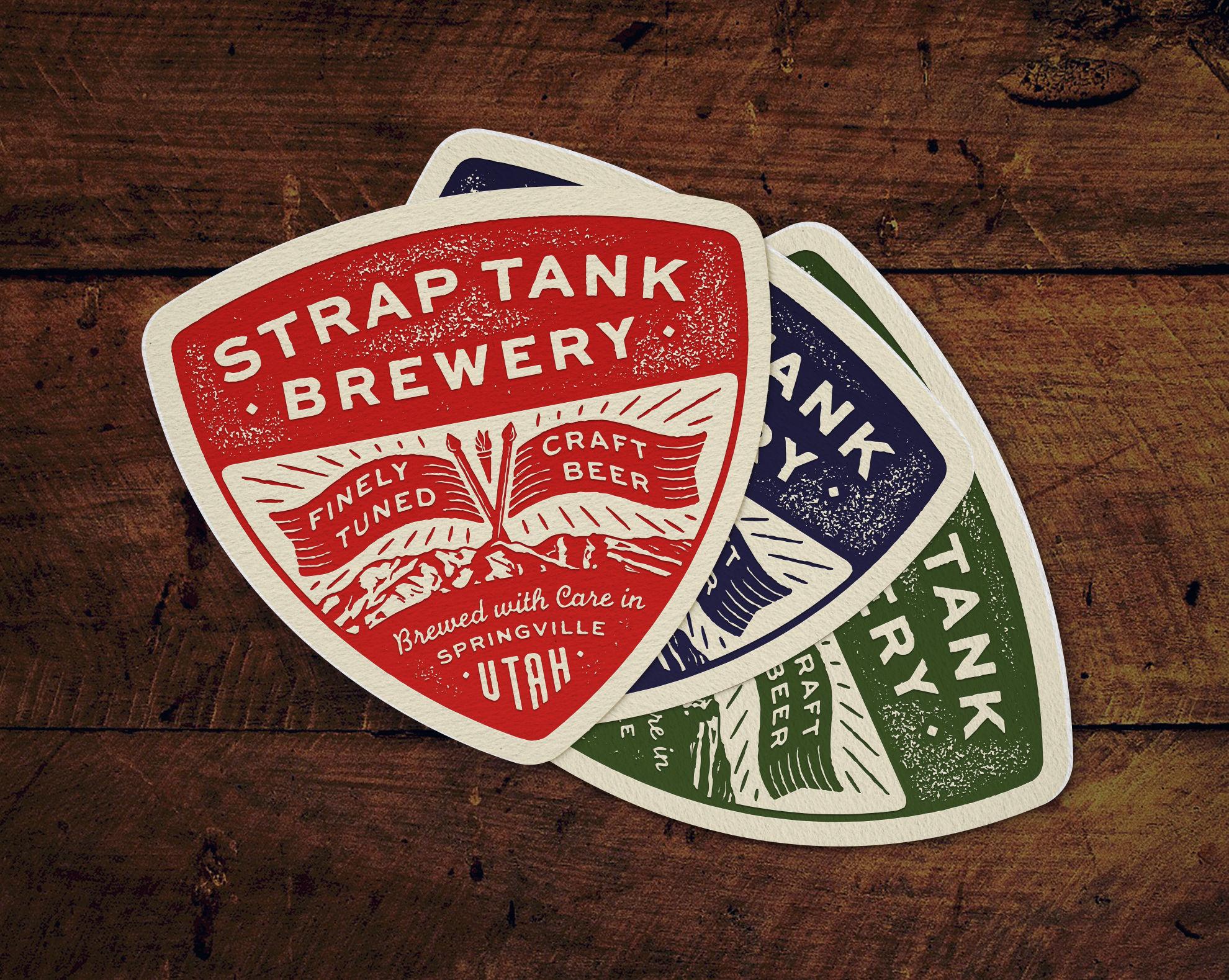 Beer & Branding: Strap Tank Brewery