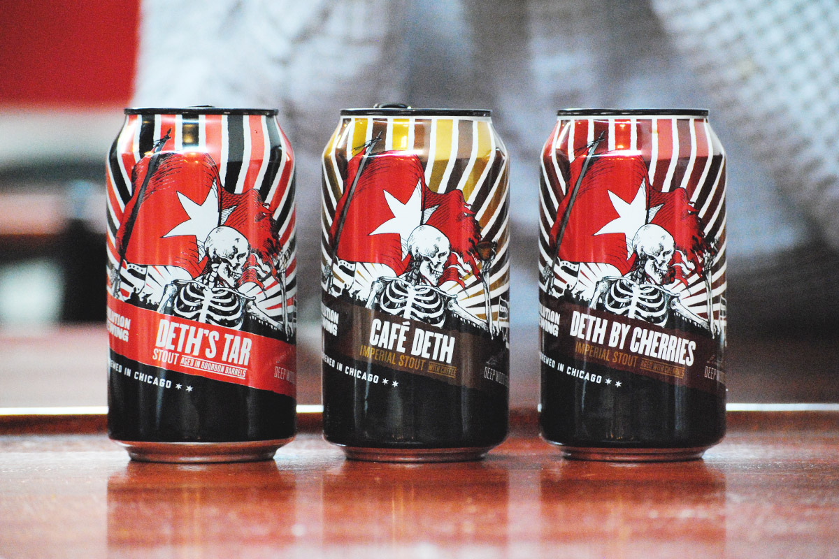 Revolution's Barrel-aged Cans: A Preview