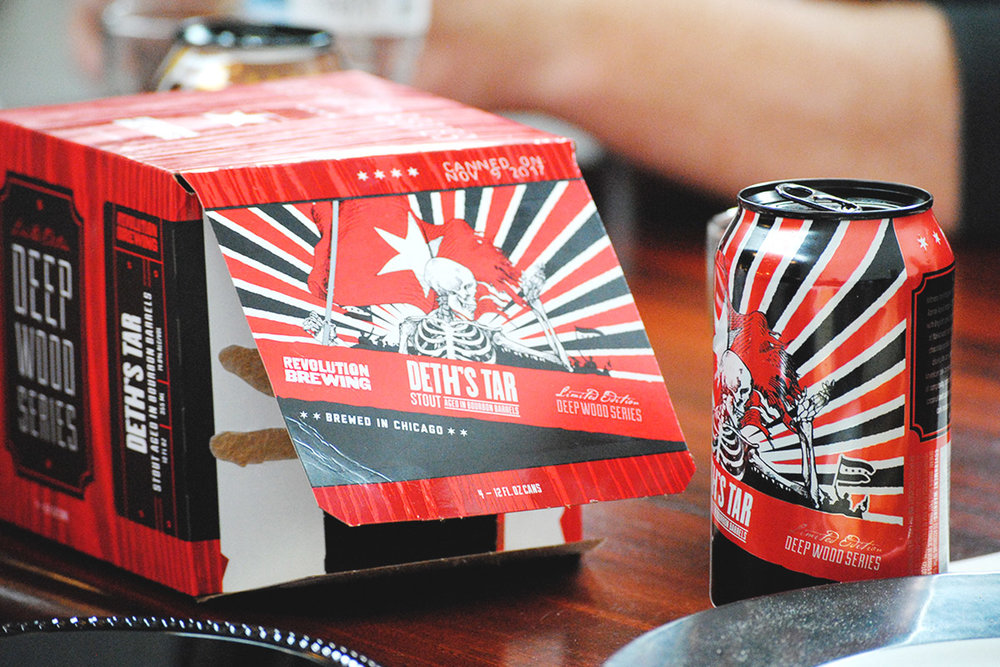 The newly packaged BA cans will be available in special release Deep Wood 4-pack cartons.