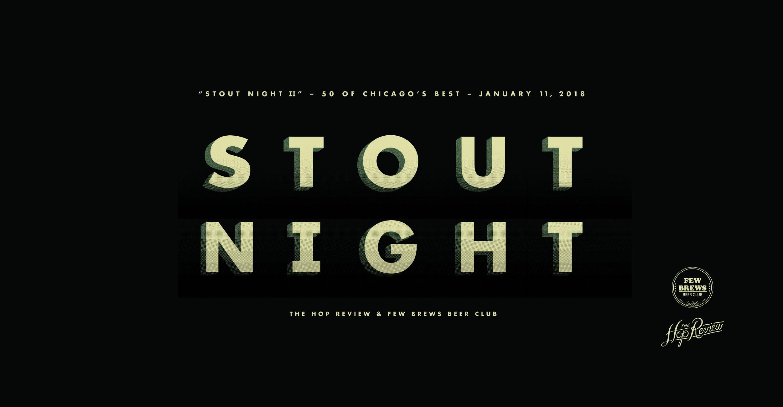 THR X Few Brews: Stout Night II
