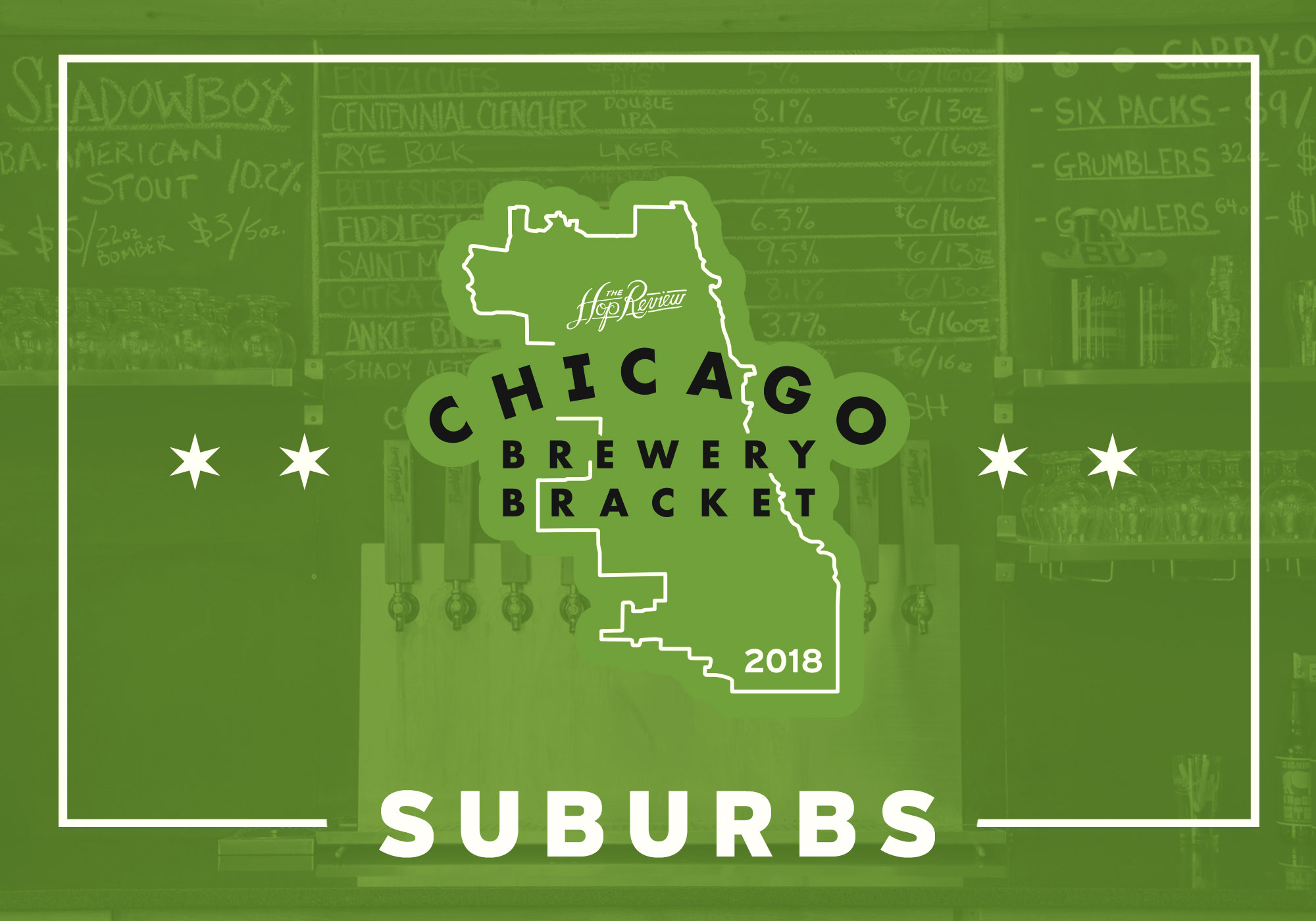 2018 Chicago Brewery Bracket: Suburbs – Rd. 1