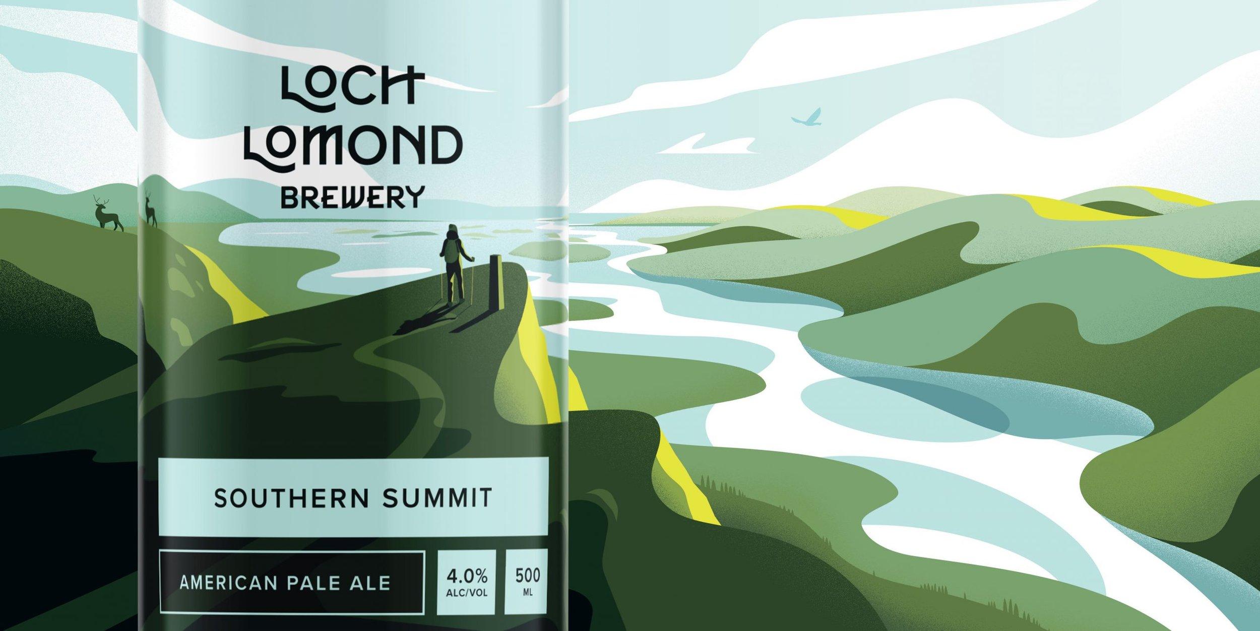Beer & Branding: Loch Lomond