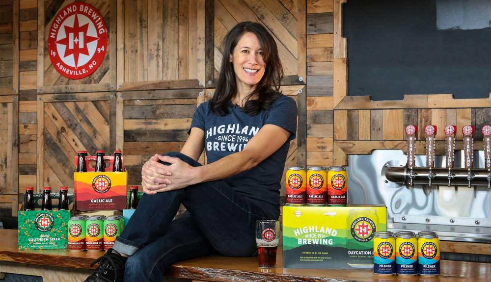 Highland Brewing Owner, Leah Wong Ashburn
