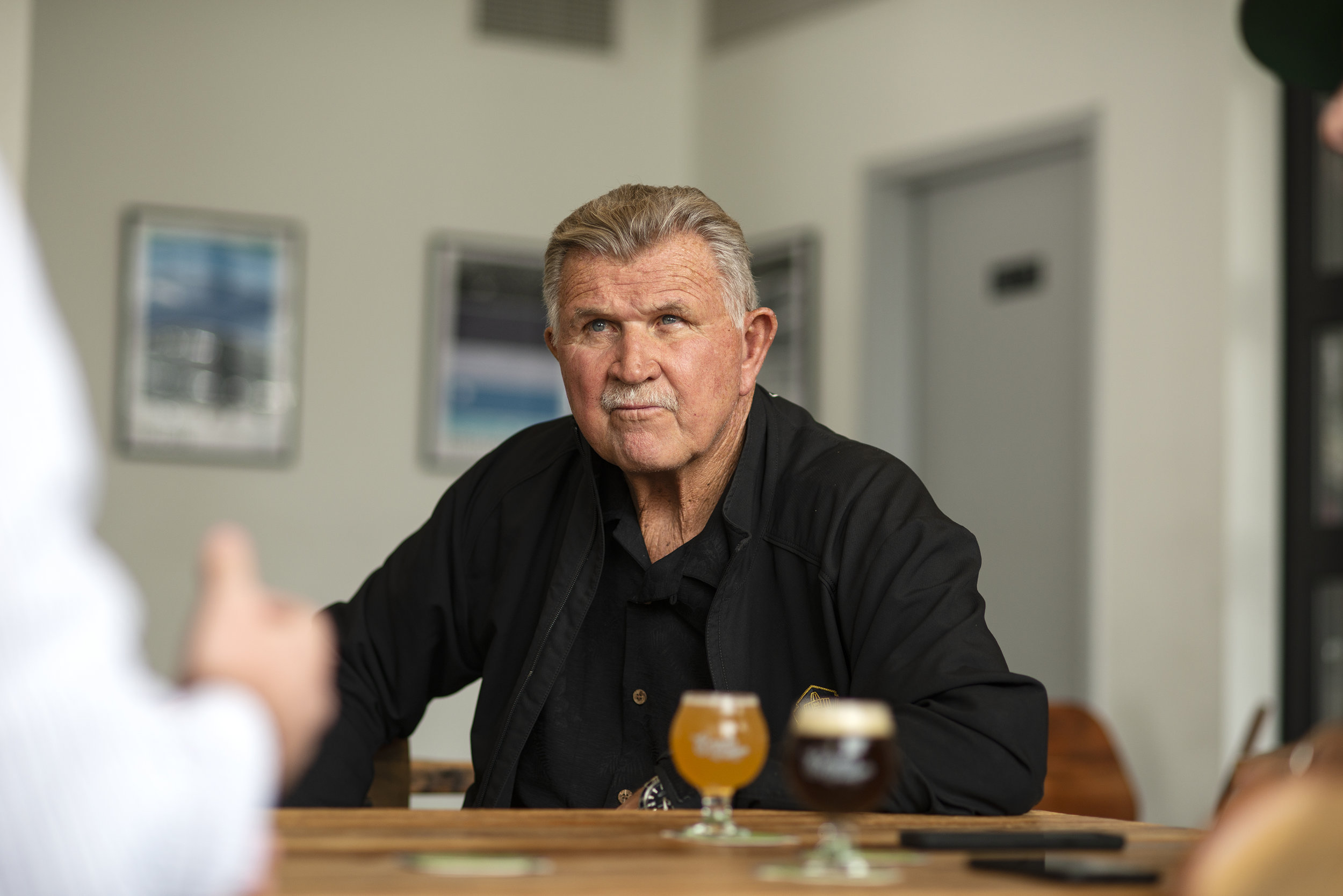 A Beer with Coach Mike Ditka