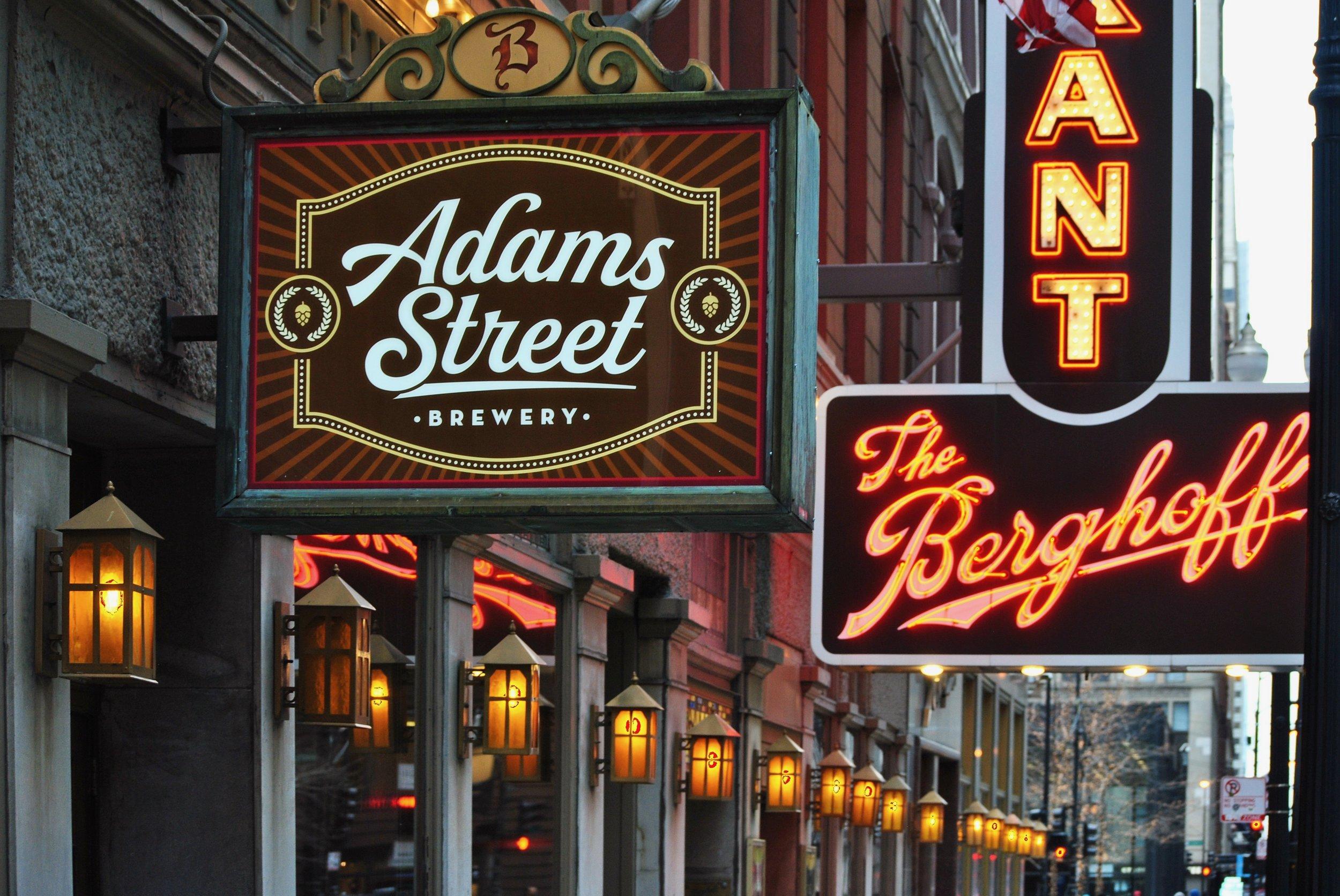 Re-tapped: Adams Street Brewery