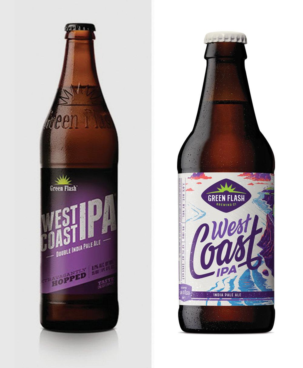 Bottles before & after
