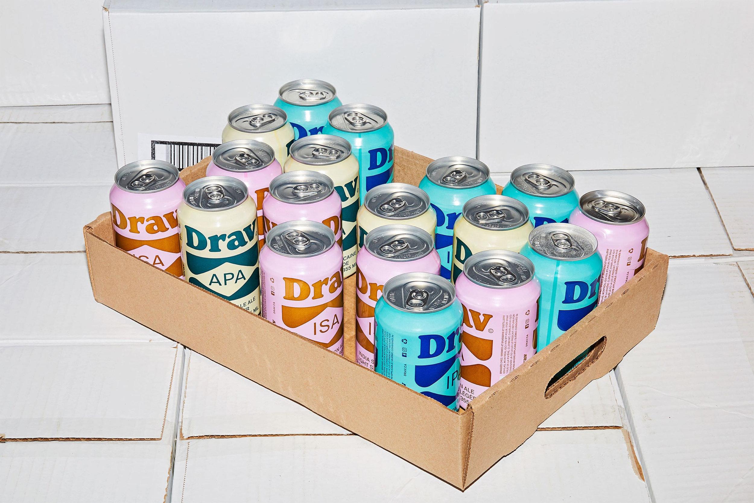 Beer & Branding: Drav Bière
