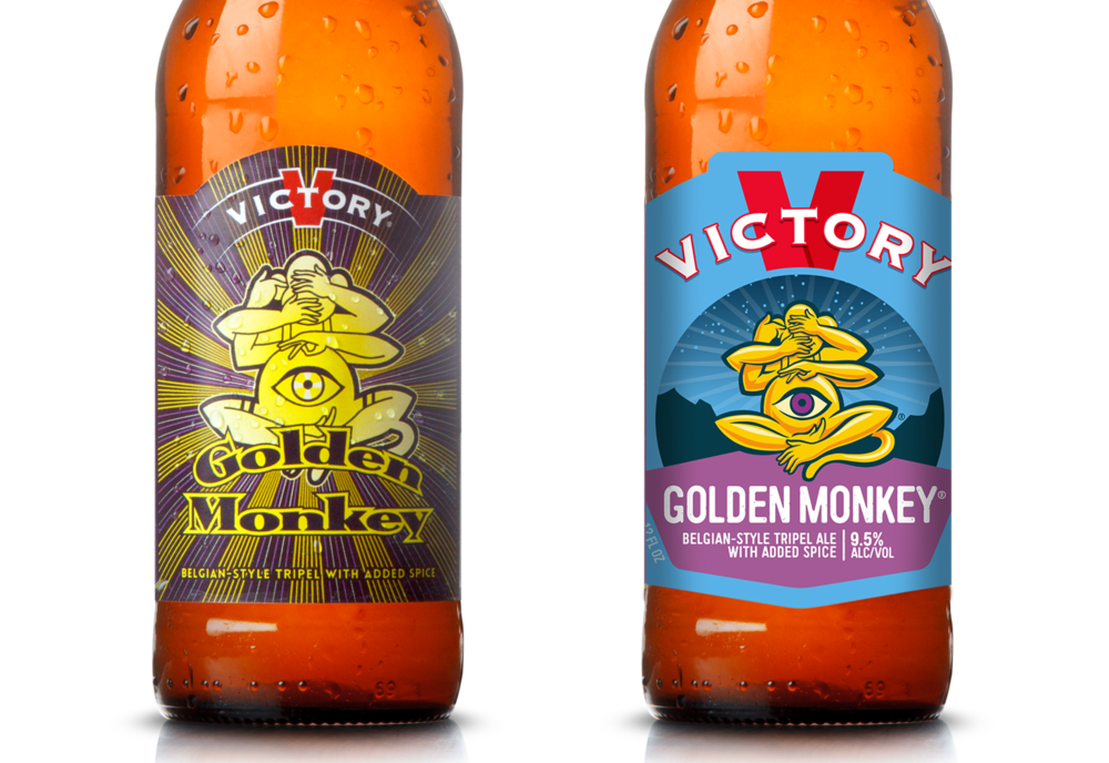 Golden Monkey before & after