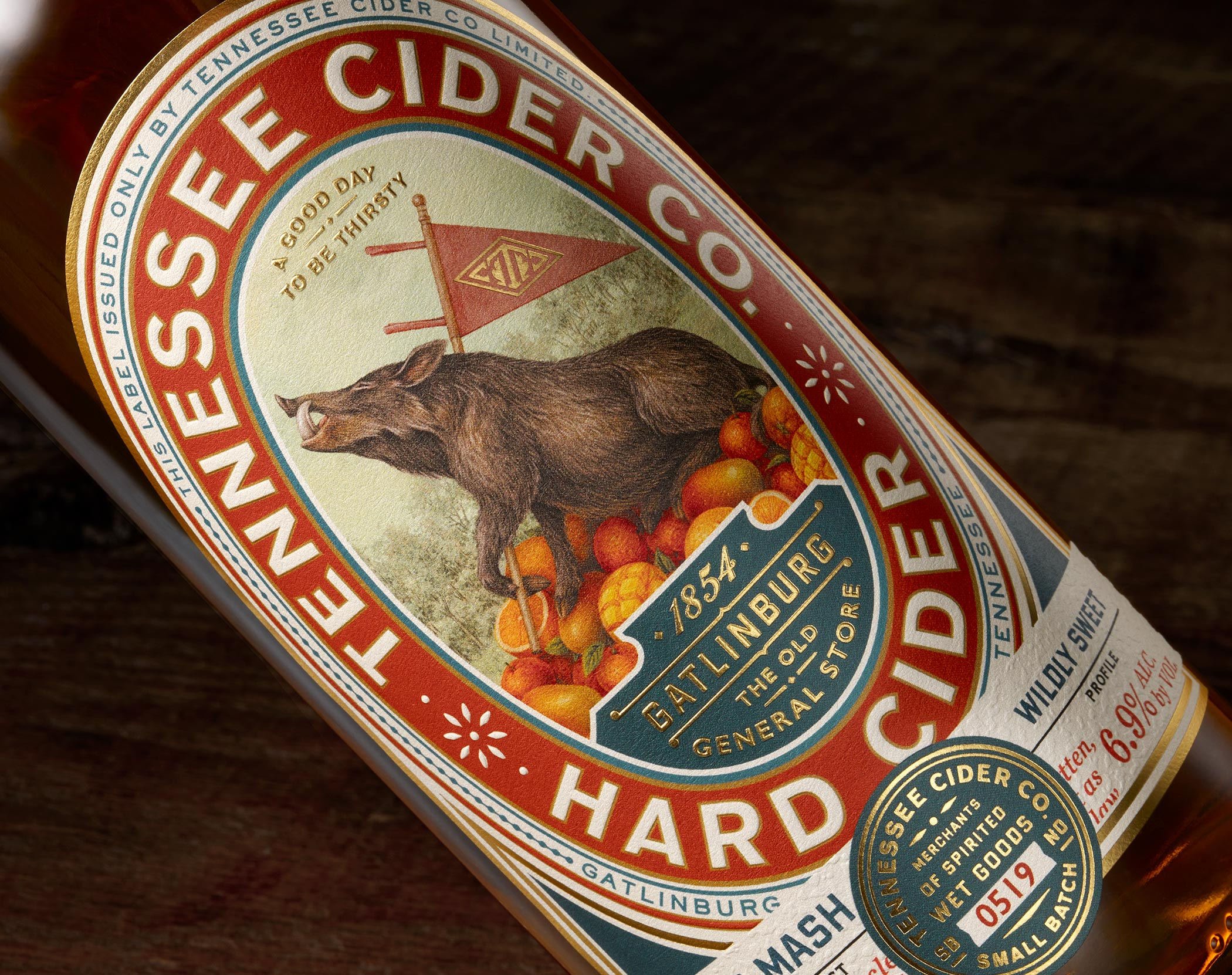 Cider & Branding: Tennessee Cider Co.