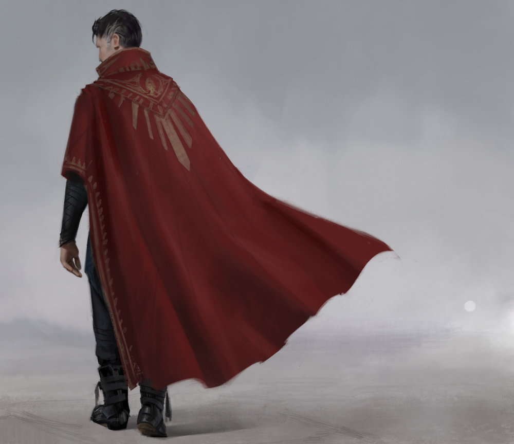 Dr Strange : Unused Back Cape Idea  Doctor Strange (2016)  Company: Marvel Films