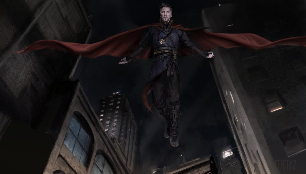 Dr Strange : Flying Concept  Doctor Strange (2016)  Company: Marvel Films
