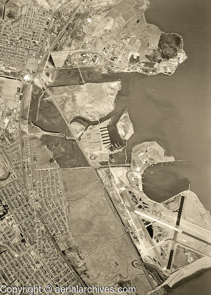 Oyster Point was San Francisco Bay in 1946.
