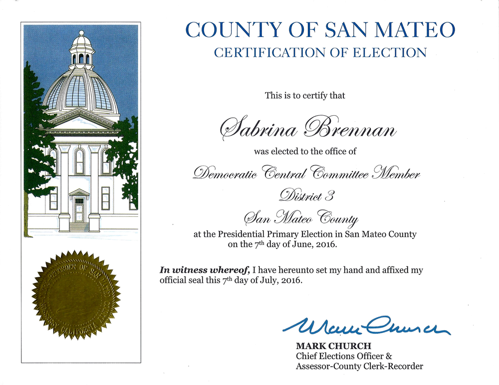 San Mateo County Democratic Central Committee