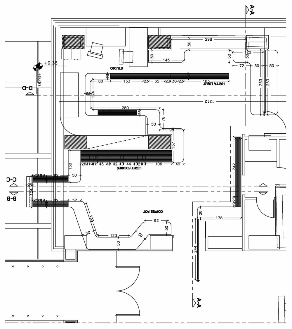Plan Layout of the installation.