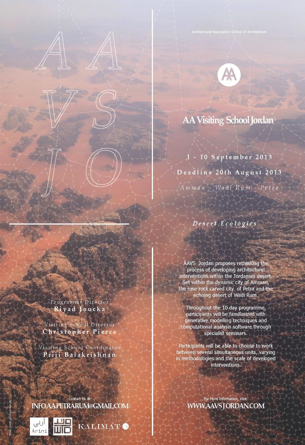 AAVS Jordan Poster 2013