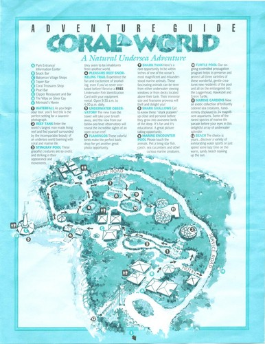 Coral World Map
