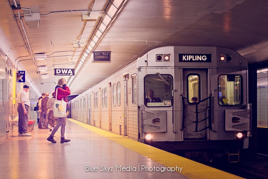 Kipling Subway Line