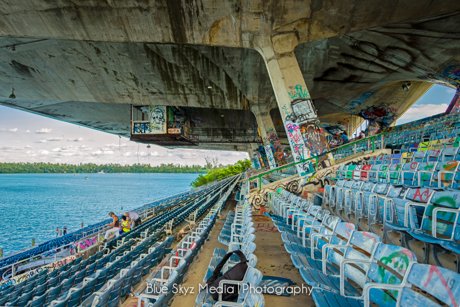 The Grandstand at Miami Marine Stadium