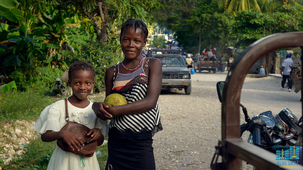On The Streets in Haiti