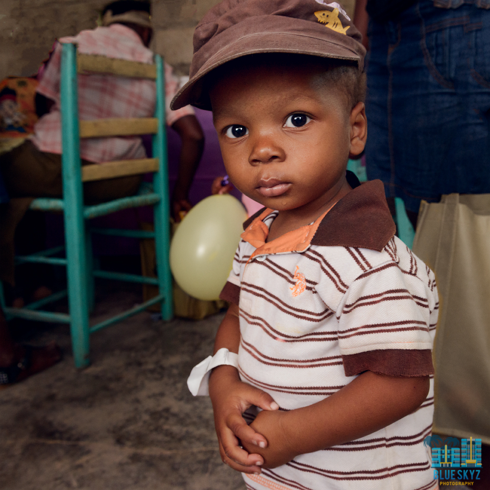 Little Boy In Haiti