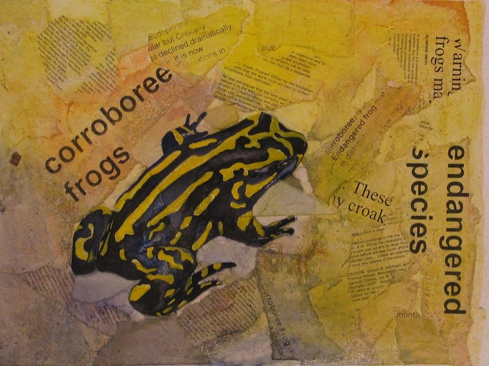 Corroborree frog (Card)