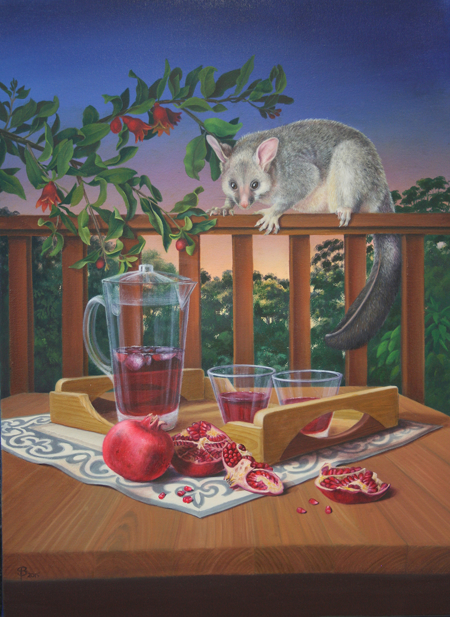 Possum and Pomegranates