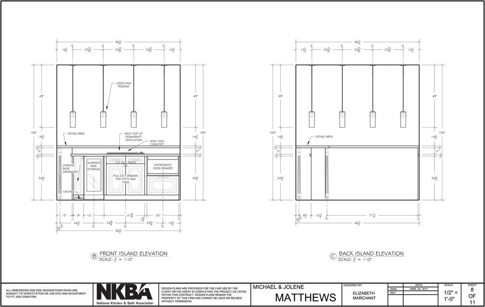 National Kitchen And Bath Ociation | Nkba Kitchen Elizabeth Marchant