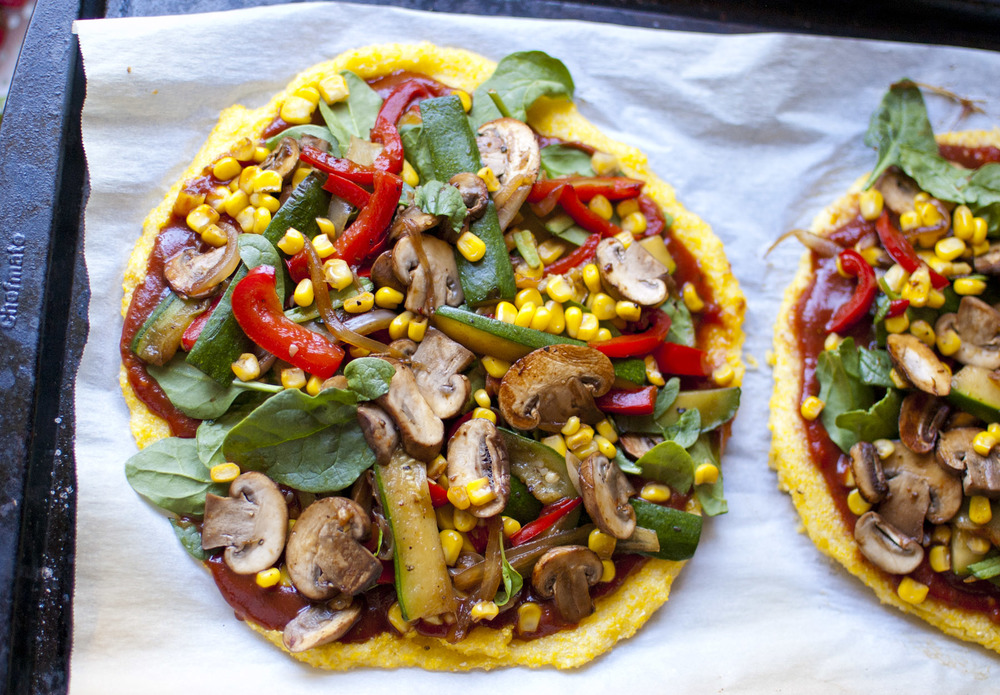 BBQ Polenta Pizza — Fo Reals Life