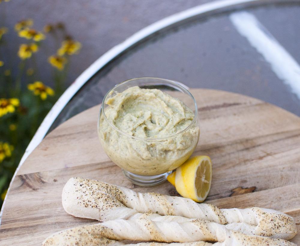 Easy Lemon Artichoke Dip — Fo Reals Life