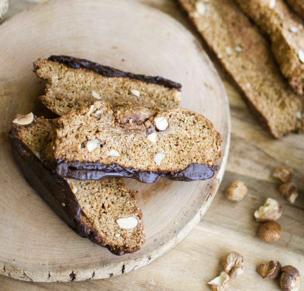 Maple Hazelnut Biscotti