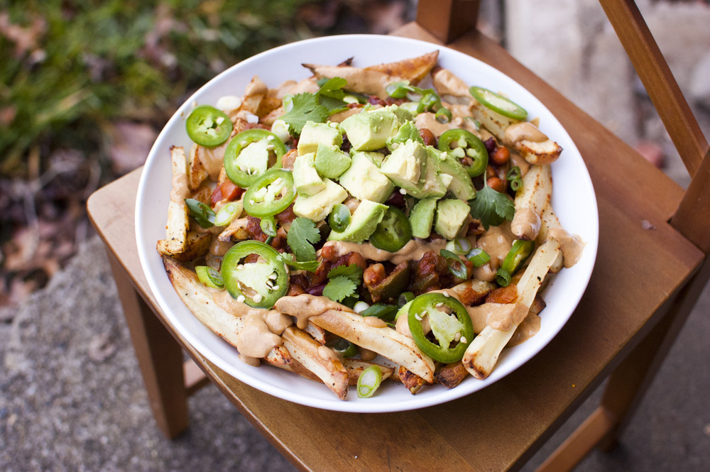 The BEST healthy vegan Chili Cheese Fries — Fo Reals Life
