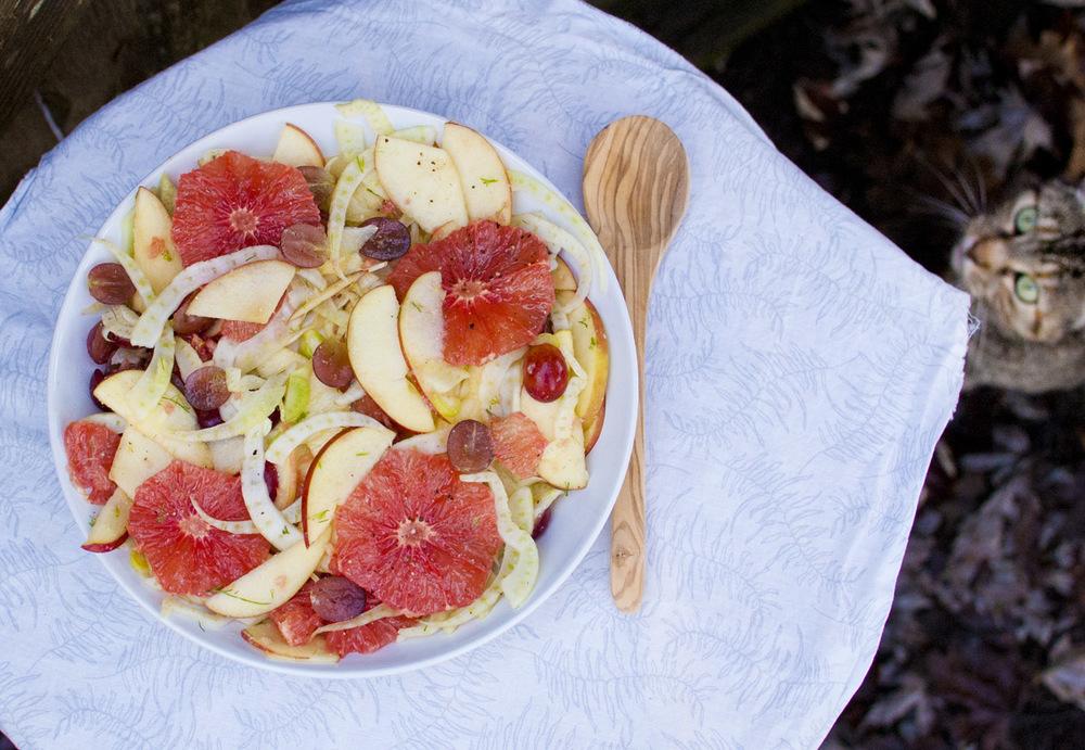 Fennel Grapefruit Salad - Simply Healthy Recipe