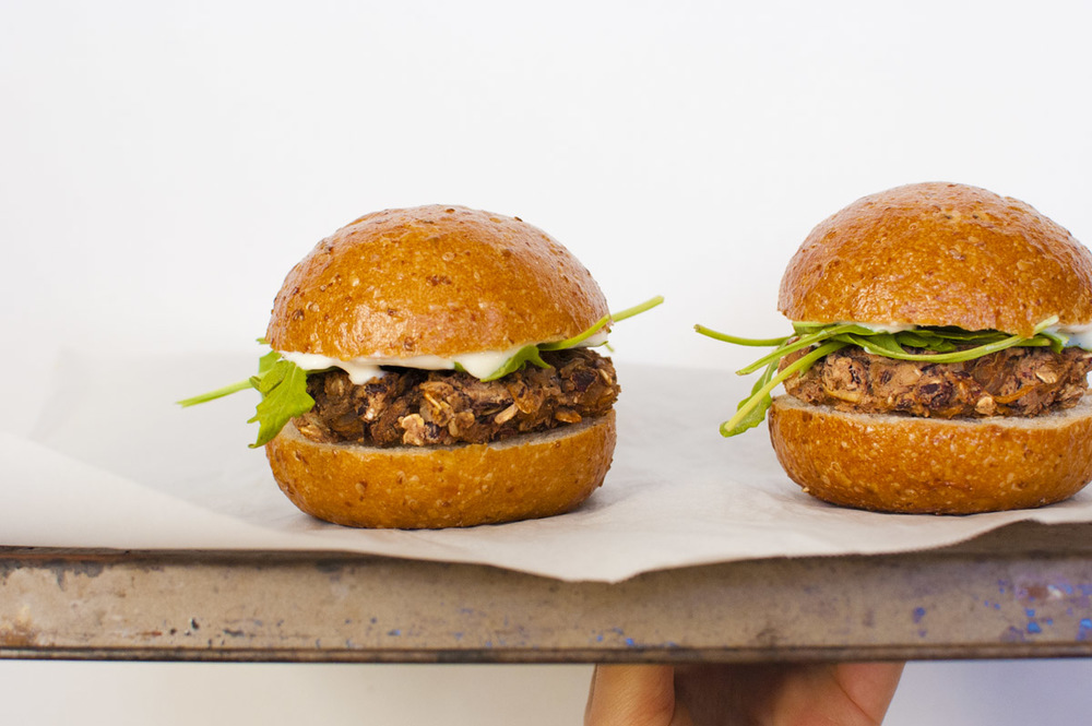 Caramelized Onion and Mushroom Vegan Sliders