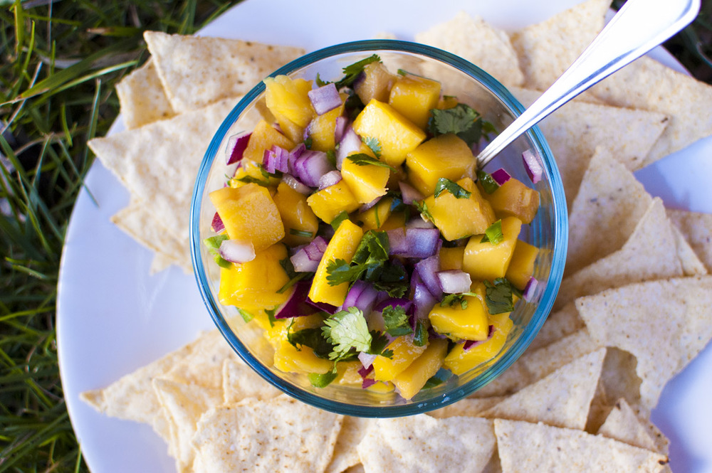 Mango Salsa - Simply Healthy