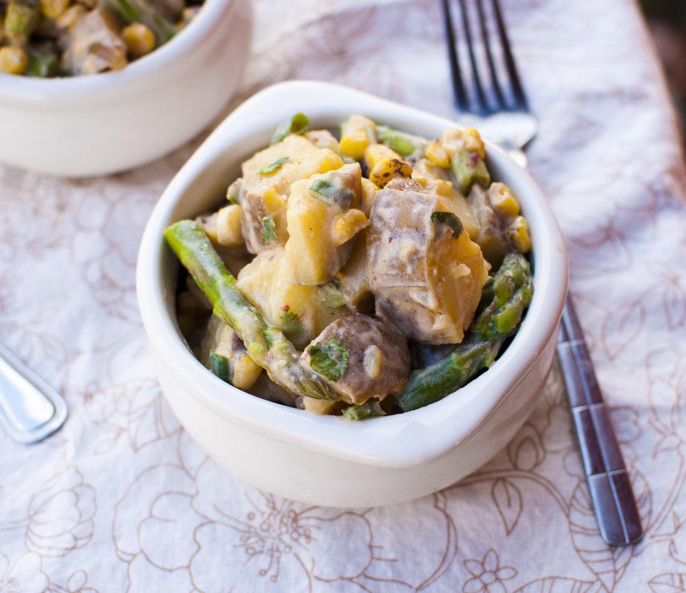 Vegan Chipotle Potato Salad