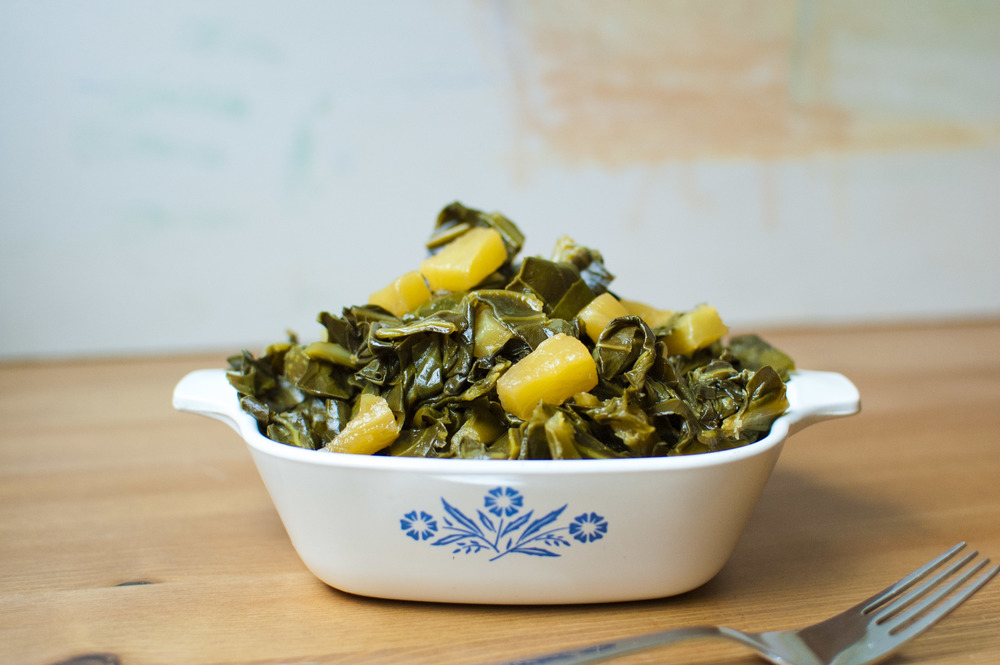 Pineapple Collard Greens