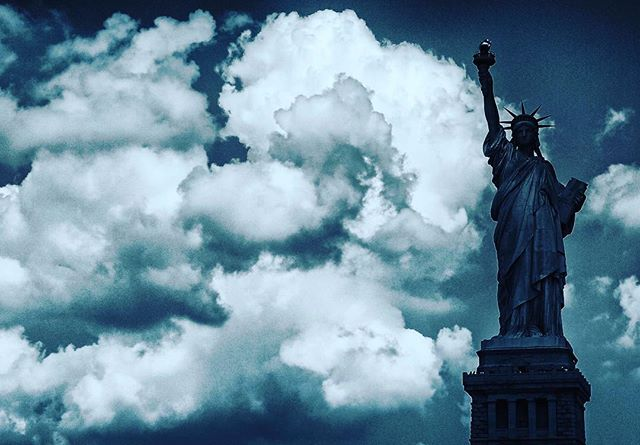 State of Liberty in America, circa 2017  #liberty #freedom #statueofliberty  #newyork  #july4th