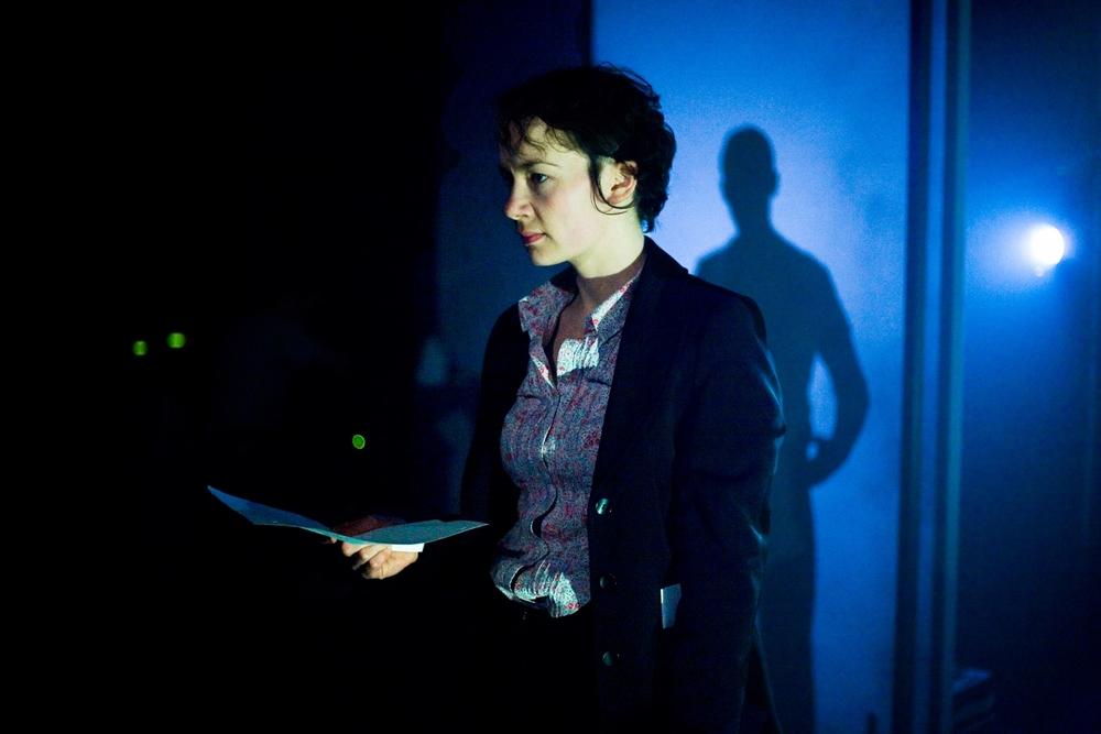 Actors: Abigail Davies & Iain McKee Photograph: Alessandro Evangelista
