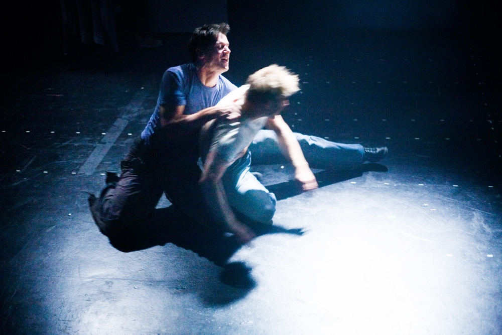 Actors: Ben Duke & Eddie Kay Photograph: Alessandro Evangelista