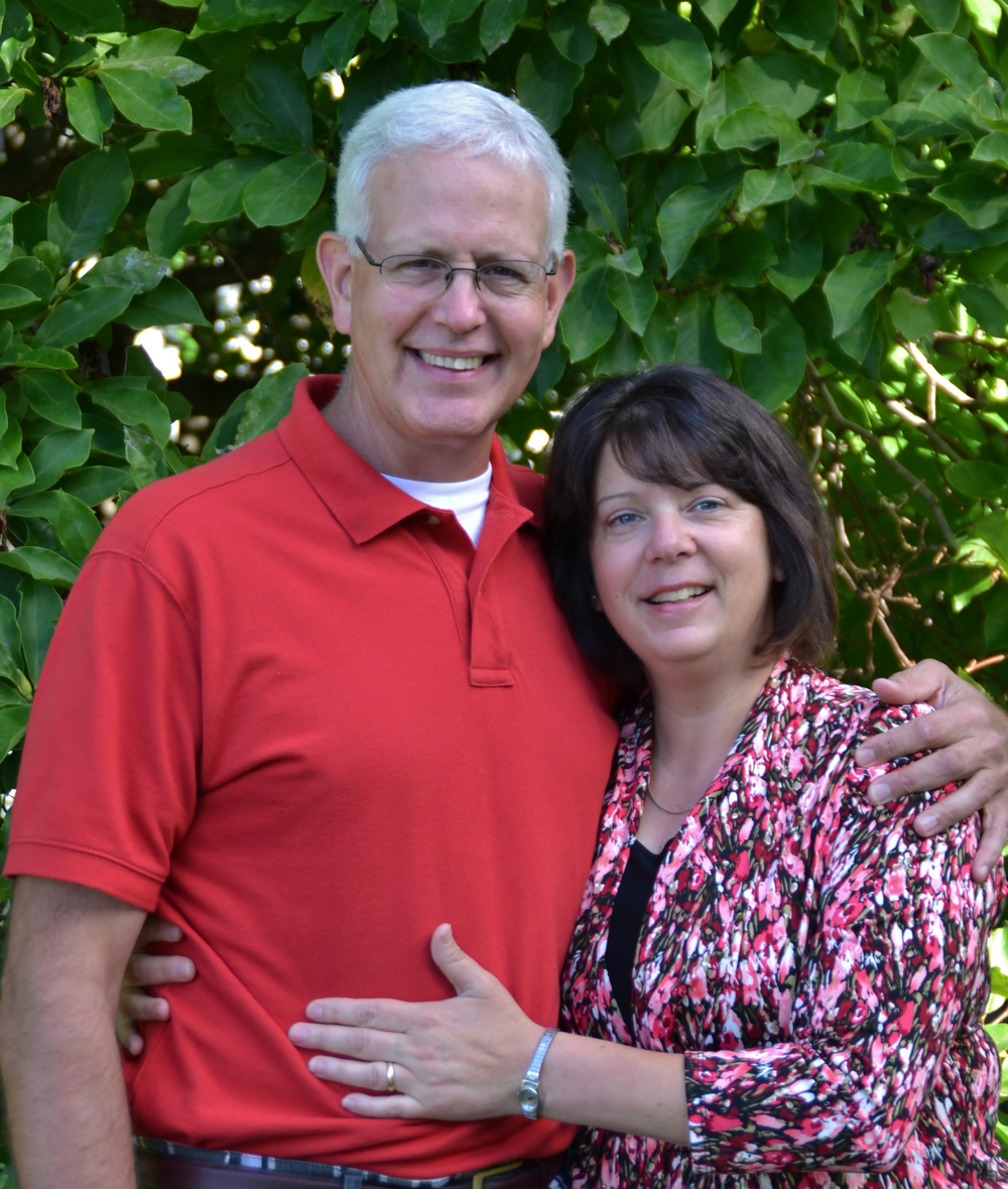 Pastor Scott and his wife Joni